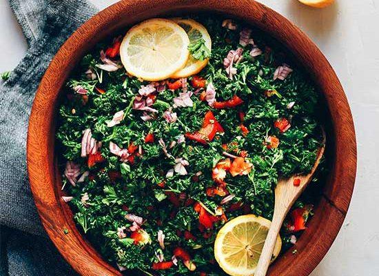 Grain-Free Tabbouleh Salad